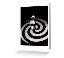 Lost in rotation Greeting Card