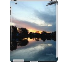 Tropical Sky ~ Lake Reflection iPad Case/Skin
