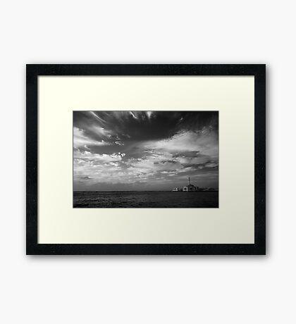 Hope Floats Framed Print