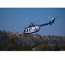 ZS-HUX - Police Helicopter Photographic Print