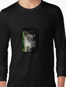 Bright Eyes the Kitten / Cat Long Sleeve T-Shirt