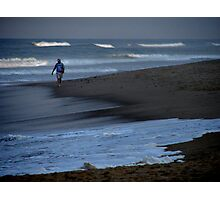 Man and the Sea Photographic Print