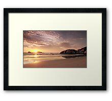 Evening at Whisky Bay Framed Print