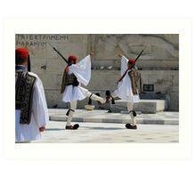 Changing of the Guards #2 Art Print