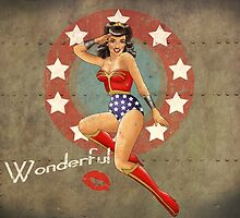 Wonder War Pin Up Bombshell by atomicgirl