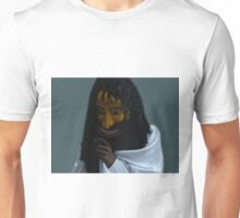 SRI LANKA CULTURAL HUMAN FACE MASK ..VERSION TWO..PILLOW -TOTE BAG-PICTURE ECT.. Unisex T-Shirt