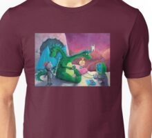 The Knight, The Princess and The Dragon Unisex T-Shirt