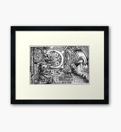 The Age of Reason - Etching Framed Print