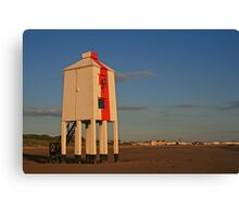 Burnham-on-Sea Lighthouse Canvas Print