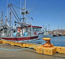 Colors of the port in Magdalen islands by Helene Chevarie