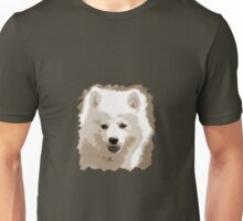 Japanese Spitz close up Unisex T-Shirt