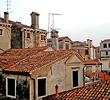 Endless Rooftops - Venice, Italy by bengranlund