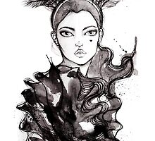 Anahita Black & White by D.U.R.A .