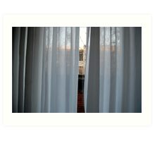 Afternoon in St. Vincents Guesthouse Art Print