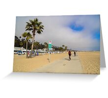 Santa Monica, California Greeting Card