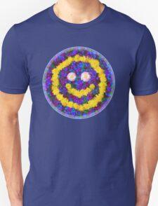 Happy Smiley Face Bright Dandelion Flowers  Unisex T-Shirt