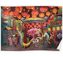 Chinatown Animals Poster