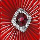 Red Pattern with a ruby  (1656 Views) by aldona