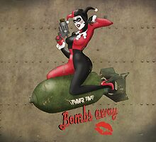 Harley War Pinup Bombshell by atomicgirl