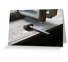 Rawhide Mallet Greeting Card