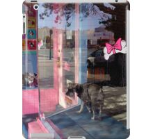 The One Without The Waggly Tail iPad Case/Skin
