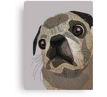 Willie the Dog Canvas Print