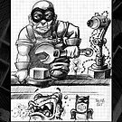 Thumb bat and mechanic by Mike Cressy
