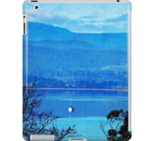 Boat on the Blue iPad Case/Skin
