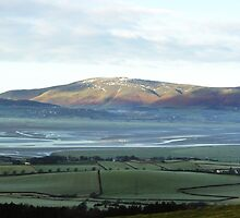View from on Kirby moor, Cumbria. by Clare Gelderd