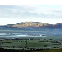 View from on Kirby moor, Cumbria. Photographic Print