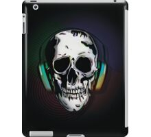Skull + Headphones iPad Case/Skin