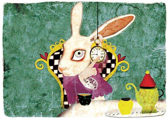 wonderland bunny by rupydetequila