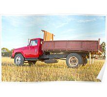 International Farm Truck. Poster