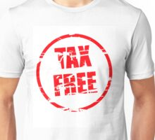 Tax free rubber stamp effect Unisex T-Shirt