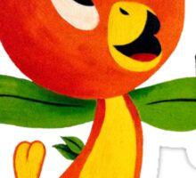 Disney Florida Orange Juice Bird In The Sunshine Tree  Sticker