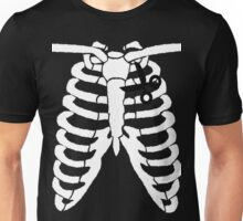 Cut Out Ribs Unisex T-Shirt