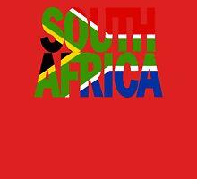 South Africa + flag Unisex T-Shirt