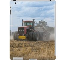 Dusty Job ...Ploughing ...Case Does It Easy.... iPad Case/Skin
