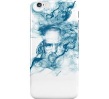Up in Smoke (blue) iPhone Case/Skin