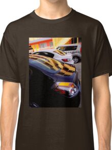 Yellow Pickets Going Up Classic T-Shirt