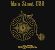 Walt Disney World Main Street USA Penny Farthing 3 by The Department Of Citrus