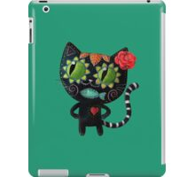 Black Cat of The Dead iPad Case/Skin