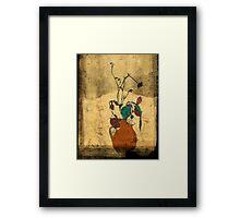 bouquet sordide fresco  Framed Print