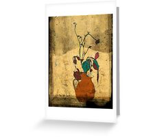 bouquet sordide fresco  Greeting Card