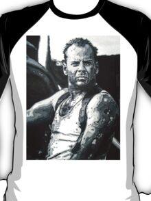 Bruce willis in die hard iconic piece T-Shirt