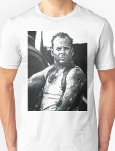 Bruce willis in die hard iconic piece Unisex T-Shirt