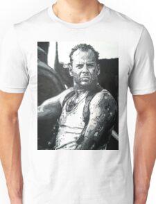 Bruce willis in die hard iconic piece Unisex T-Shirt