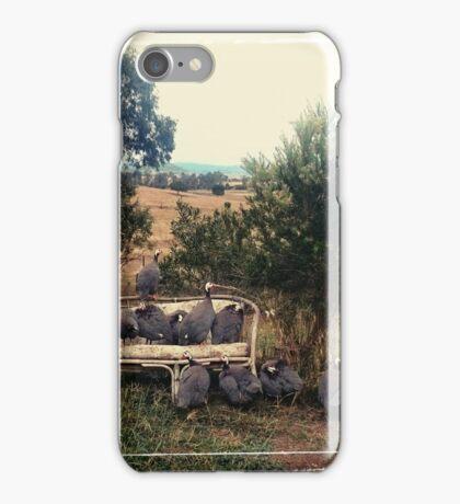Guinea Family Portrait iPhone Case/Skin