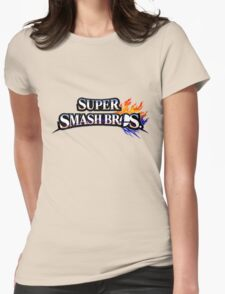 Super Smash Bros Womens Fitted T-Shirt