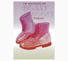 Pink Bossy Boots Kids Clothes